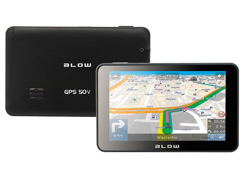 Blow Gps50v 4gb Darmowa Mapa Europy Nawigacje 5 0